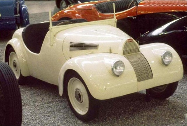 The Littlest (And Slowest) Bugatti