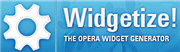 Make your own Opera widget