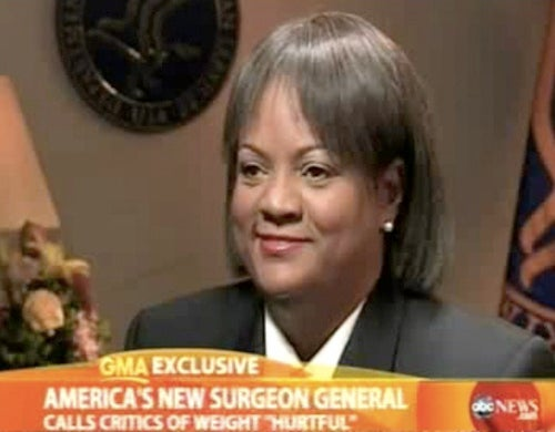 "New Surgeon General Accepts ""Hurtful"" Weight Criticism"