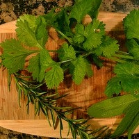 Dry Herbs for Storage in a Microwave