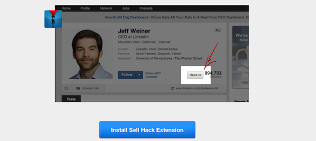 This Browser Extension Lets You See Any LinkedIn User's Email Address