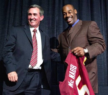 Mike Shanahan Thinks Donovan McNabb Is Out Of Shape And Gimpy