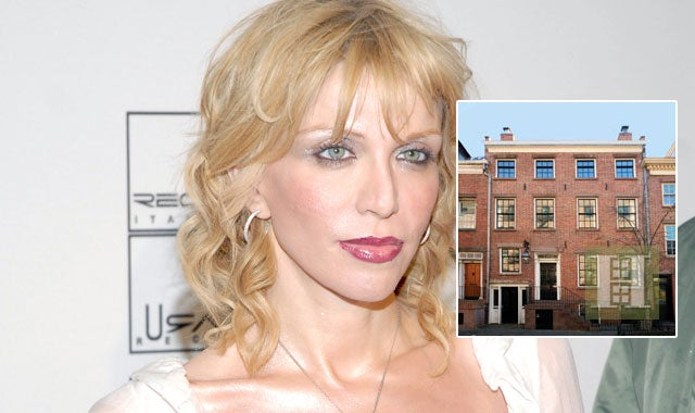 Fire in Courtney Love's West Village Town House
