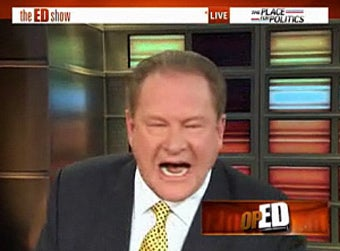 Ed Schultz's MSNBC Rampage: 'I'm Going to Torch This F*cking Place'