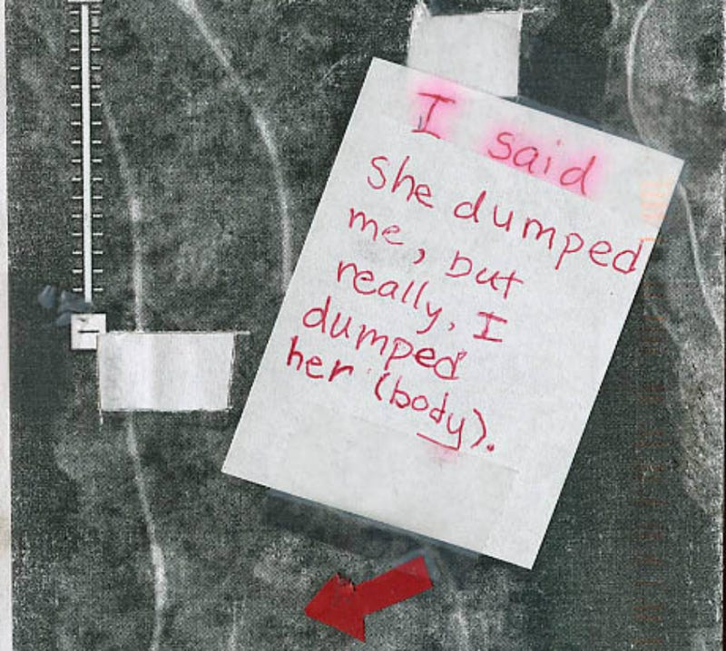Did Someone Confess a Murder on PostSecret?