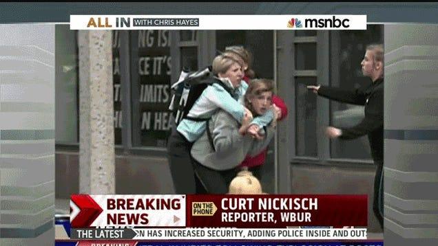 Former Patriots Guard Joe Andruzzi Helped Rescue Blast Victims