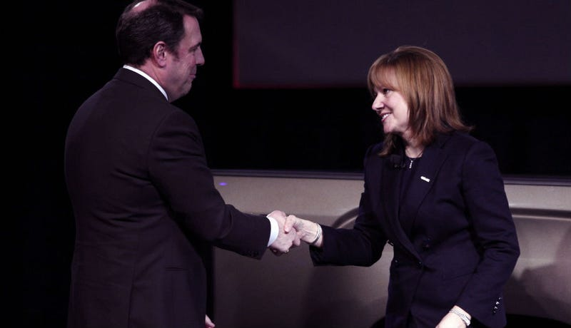 GM's First Female CEO Only Paid Half What Her Male Predecessor Was