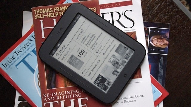 Get a Free Nook Simple Touch or $99 Color With an NYT Subscription