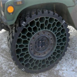 Honeycomb Tires Take a Lick, Just Don't Actually Lick Them