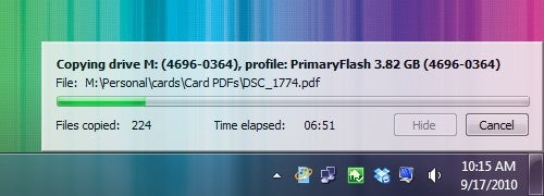 USBFlashCopy Automatically Identifies and Backs Up Your Flash Drives
