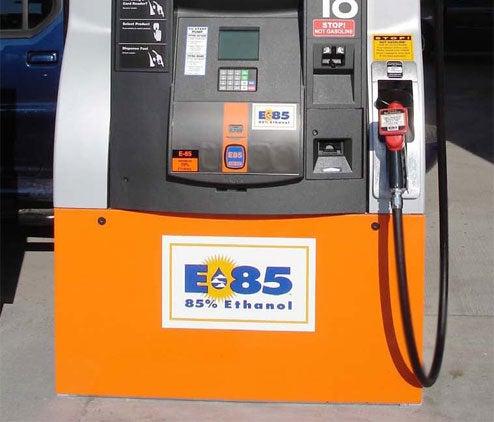 E85 Gas Pumps Pass 1,800 Mark, Still Can't Find One In Sarah Palin's Alaska