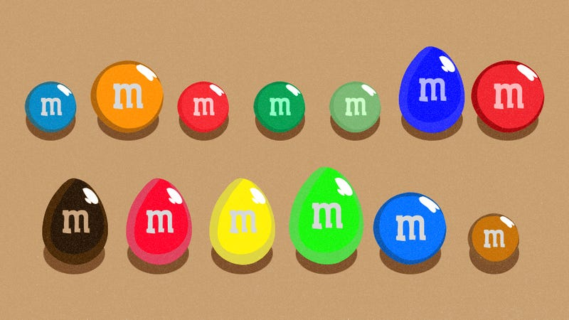 M&M's Flavors, Ranked