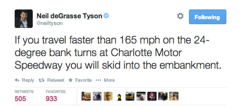 Neil DeGrasse Tyson Screwed Up A Tweet About Basic Physics