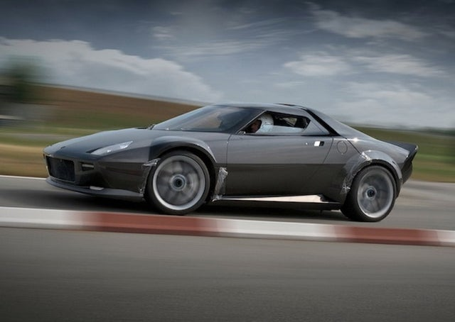 The New Lancia Stratos Is Gorgeous, Possibly V8-Powered