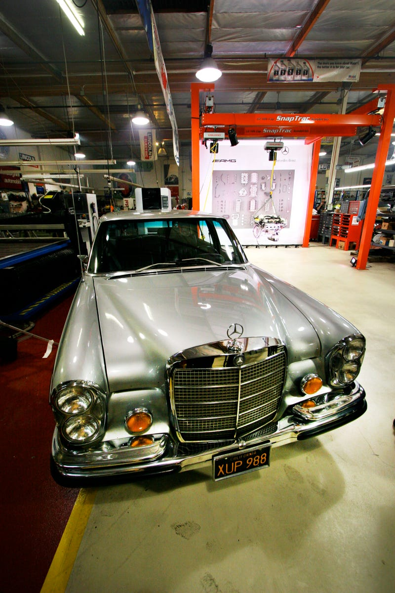 Gallery: Jay Leno's 6.2-liter, AMG-powered Mercedes Hell Sled