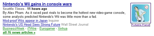 Google News Likes Our Antics