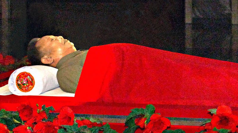 Kim Jong-il's Corpse Gets Classic Communist Dictator Treatment
