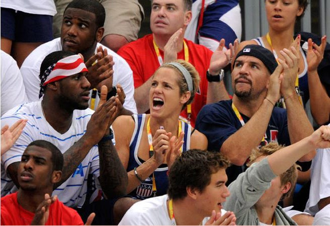 LeBron, Jason Kidd Are Huge Fans Of The Swimming