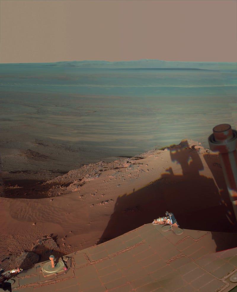 NASA's Opportunity rover snaps a rare self-portrait