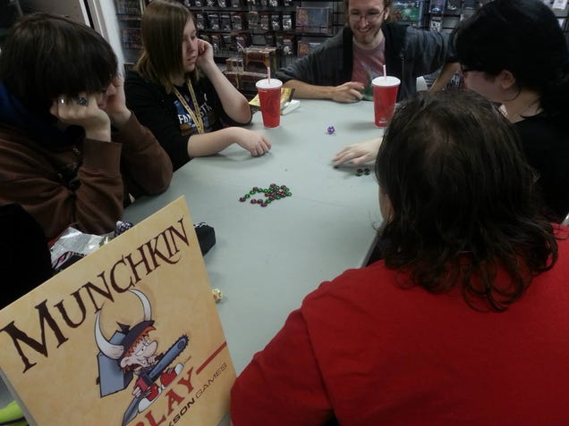 My Time Celebrating International Tabletop Day!