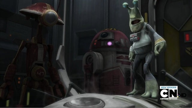 Clone Wars pits the Republic's dopiest droid against its tiniest Colonel
