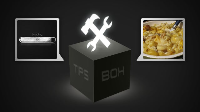 Loading Times, Mac and Cheese, and iPhone Icons