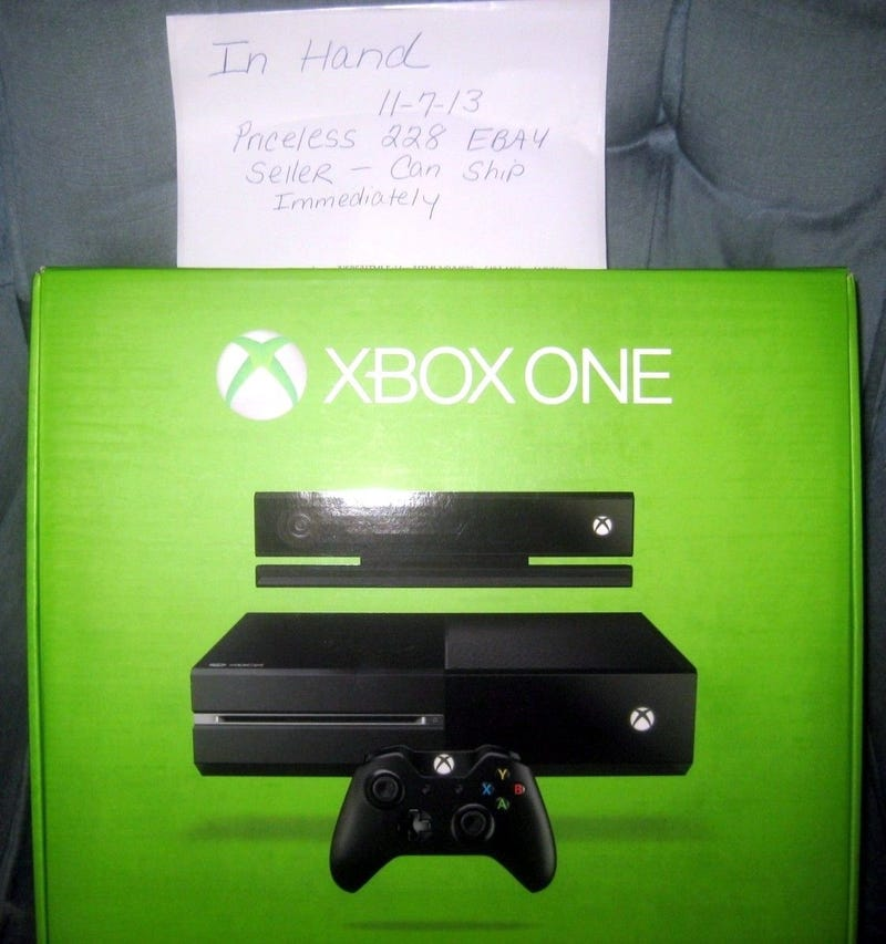 eBay Seller Claims Target Shipped Them an Xbox One, Yours For $9,995.00 [UPDATE: Auction pulled]