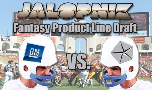GM Vs. Chrysler: Product Lineup Fantasy Draft