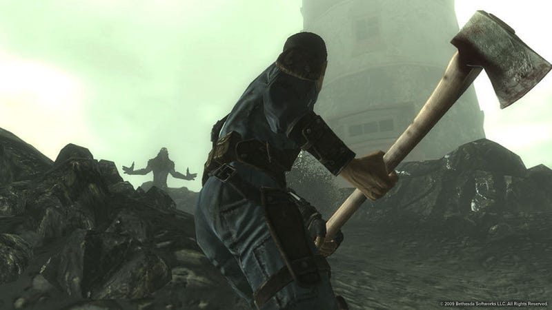 Fallout 3 Point Lookout Micro-Review: Axe Murder