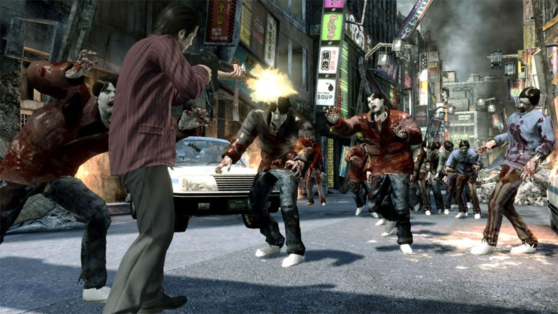 How Did Zombies Invade Sega's Japanese Gangster Game?