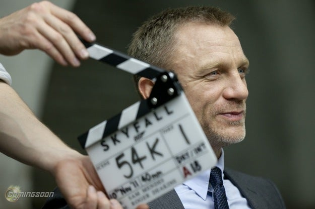 New Skyfall Pictures