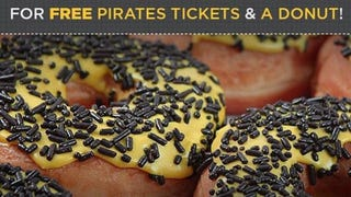 The Pittsburgh Pirates Would Like To Offer You A Sexual Donut