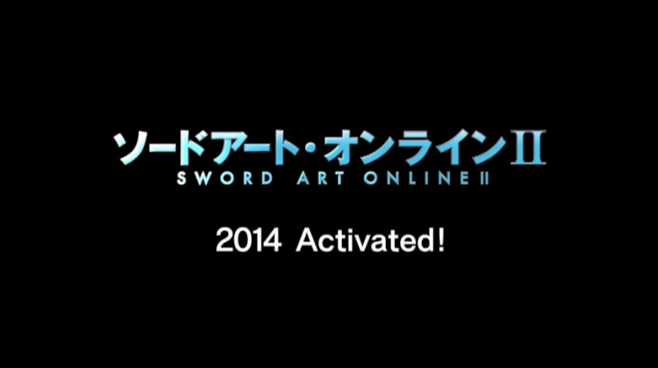 Sword Art Online Second Season To Premier On 2014