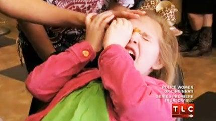 5-Year-Old Terrorized by Eyebrow Wax