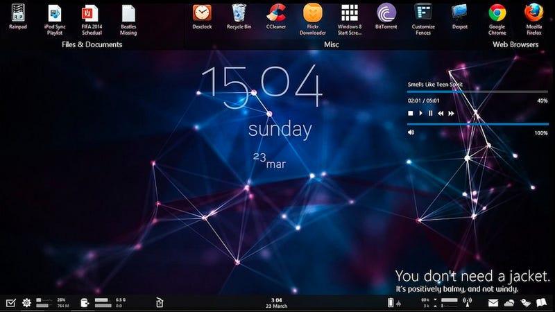 The Atomic Polygon Desktop