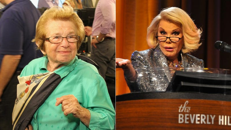 Dr. Ruth Calls Out Ye Olde Traitor Joan Rivers