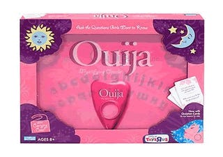 Pink Ouija Board: Finally, One Girls Can Use!