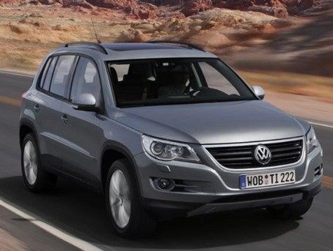Volkswagen Reveals European Tiguan SUV