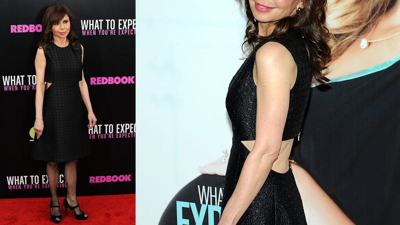 Expect Pants at the What to Expect Premiere