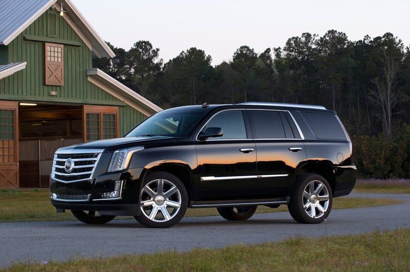 What does Oppo want to know about the 2015 Cadillac Escalade?