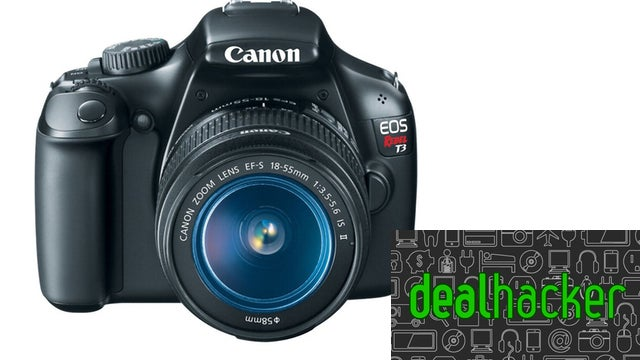 Today's Deals: Canon EOS T3, Flash Storage, Logitech Wireless Mouse