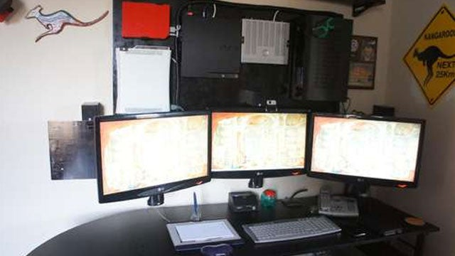 The Wall-Mounted Gaming Consoles Workspace