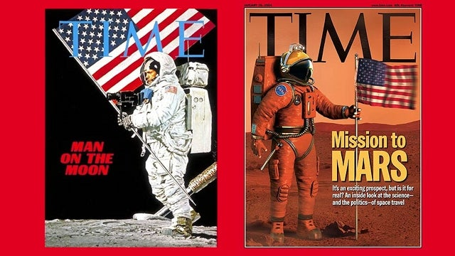 A history of space exploration as seen through TIME Magazine covers