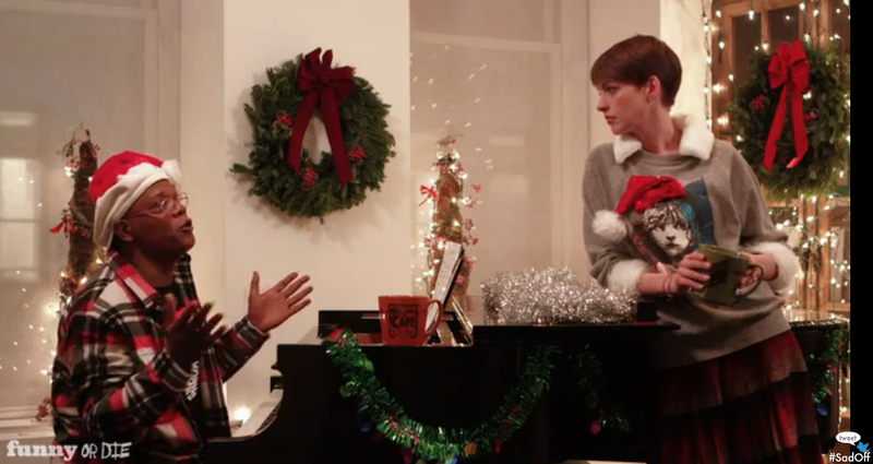 This Week's Top Comedy Video: Samuel L. Jackson and Anne Hathaway Have a Sad-Off