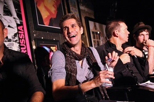 Rock Rules, Fashion Drools on Perry Farrell's Party Bus