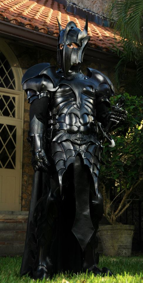 Medieval Batman armor turns you into a dark knight (literally)