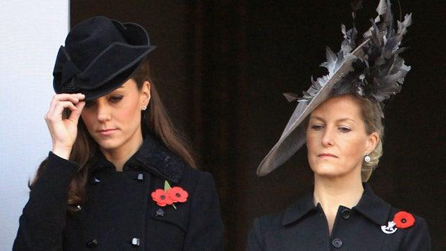 Kate Middleton Tips Her Hat