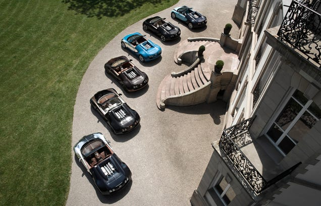 The Average Bugatti Owner Has Three Jets, One Yacht, And 84 (!!!) Cars
