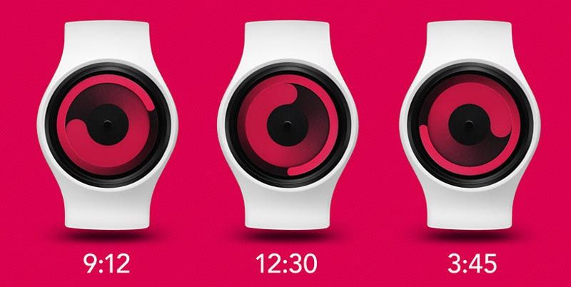 Your New Watch Doesn't Have Hands, Just Circles