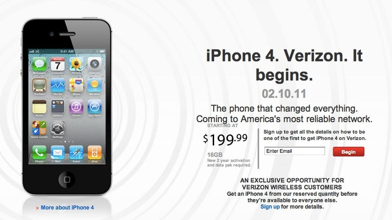 Are You Going to Buy a Verizon iPhone?